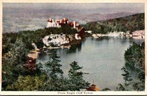 New York Mohonk Lake The Lake Mohonk Mountain House