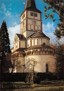 Schwarzrheindorf Doppelkapelle des Kanzlers und Erzbischofs Blick von Suedosten