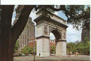America Postcard - Washington Square - New York City - Ref 16252A