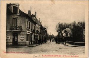 CPA LAROCHE - MIGENNES - L'Avenue de la Gare (358502)