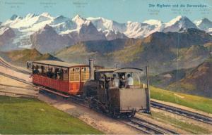 Switzerland - Die Rigibahn Und Die Berner Alpen - 02.91