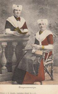 NETHERLANDS , 00-10s ; 2 women , Burgerweesmeisjo