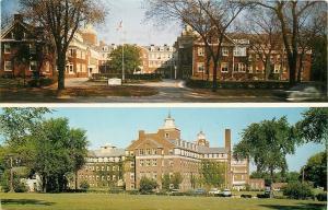 La Grange Park Illinois~Plymouth Place Inc~Nursing Home~Front & Back~1950s Cars