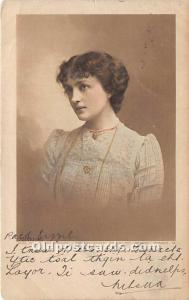 Miss Lilian Braithwaite Theater Actor / Actress Postal Used Unknown