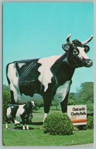 Neilsville New York~Chatty Belle & Bullet Cows~Statues~World's Fair~1964