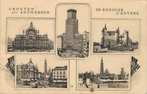 Belgium Groeten uit Antwerpen 02.16