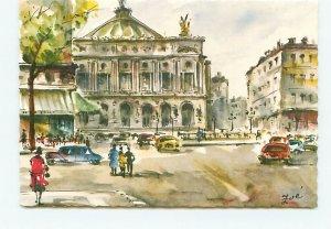 Foe Paris Opera France Art Drawing
