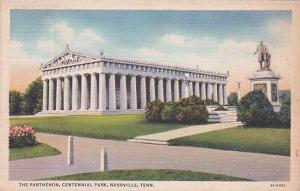 Tennesse Nashville The Parthenon Centennial Park 1909