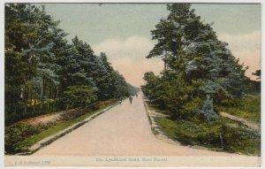 Hampshire; The Lyndhurst Rd, New Forest PPC 1910 PMK, To E Graham, Abergavenny