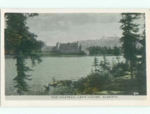 old rppc NICE VIEW Lake Louise Alberta AB W0872