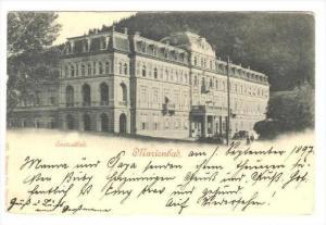 Marienbad now Mariánské Lázně  , Austria now Czech Republic, PU-1897  ...