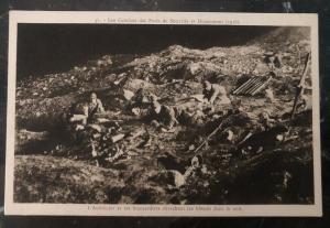 Mint France Real Picture Postcard RPPC Fort Souville & Douaumont 1916 Attacks