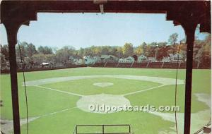 Doubleday Field Cooperstown, New York, NY, USA 1953