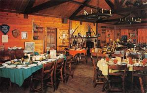 Cranston Rhode Island Country House Interior Vintage Postcard K88202