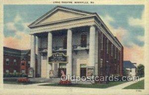 Lyric Theatre Boonville, MO, USA Unused