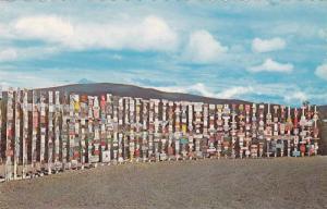 Watson Lake signposts , Watson Lake , Y.T. , Canada , 1950-60s