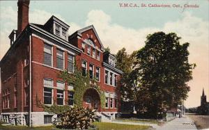 Canada St Catharines Y M C A Building