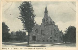 Auburn NY~Trinity United Methodist Episcopal Church~East Genesee St~1910