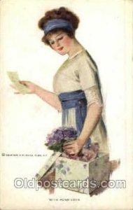 Artist Signed Earl Christy 1916