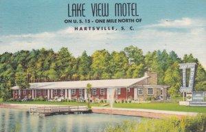 HARTSVILLE , South Carolina, PU-1953 ; Lake View Motel