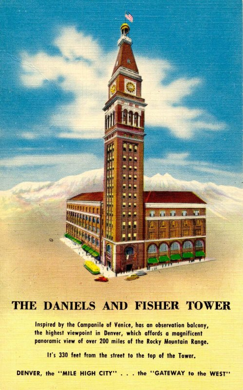 CO - Denver. Daniels & Fisher ower