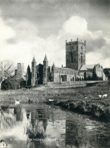Wales Postcard St Davids - Cathedral image