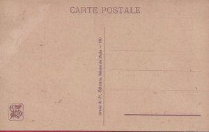 HR-17 - A Nude French Lady Posing in Paris Picture Postcard.
