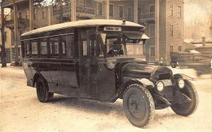 Oneonta NY Normal Line Bus F. Buss Prop. Postcard