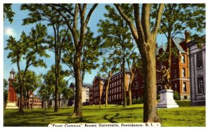 Rhode Island Providence , Front Campus , Brown University