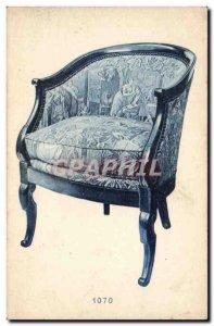 Old Postcard Armchair