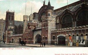 Chicago Coliseum, Chicago, Illinois, Very Early Postcard, Unused
