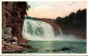 New York Adirondacks Ausable Chasm Rainbow Falls Detroit Publishing