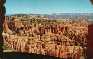 Bryce Canyon Nat'l Park, UT, Queen's Garden, Chrome Vintage Postcard g9219