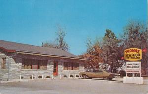 Calabash NC - VIEW of Thomas Seafood Restaurant, 1960s