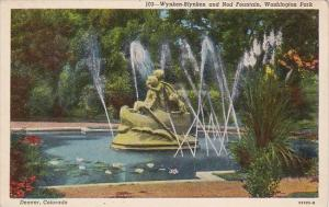 Colorado Denver Wynken Blynken And Nod Fountain Washington Park