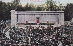 California Berkeley Greek Theatre 1916