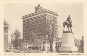 CHARLOTTESVILLE, Virginia , 1910s; Monticello Hotel, version 2