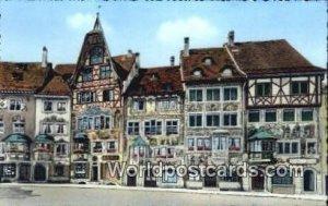 Stein a Rhein Bemalte Hauser Swizerland Unused
