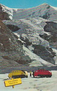 Canada Snowmobiles on Columbia Icefield Alberta