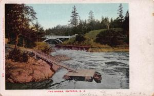 The George, Victoria, British Columbia, Canada,  Early Postcard, Unused