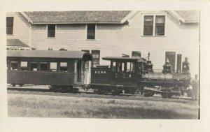 RP: Kansas City Railroad Train Engine , 1910-30s