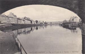 Vue sur le quai de la Poterne, Chateau-Thierry (Aisne), France, 1900-1910s