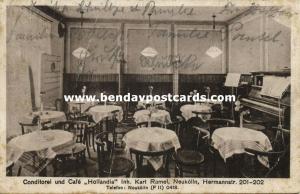 germany, BERLIN, Neukölln, Conditorei und Café Hollandia, Hermannstrasse (1929)