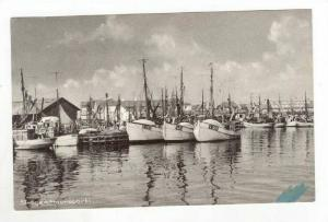 Ships @ Dock in the Harbor / Havneparti,Skagen,Denmark 1900-10s