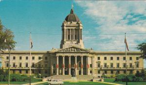 Manitoba Legislative Building, Winnipeg, Manitoba, Canada, PU-1969