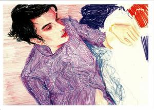 Spencer by Elizabeth Peyton Art Postcard