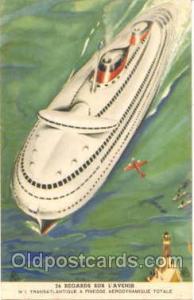 Sur L'Avenir Ship, Ships, Postcard Postcards  Sur L'Avenir