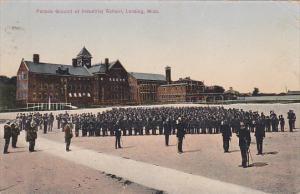 Michigan Lansing Parade Ground At Industrial School 1909