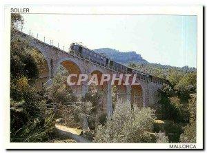 Postcard Modern Soller Mallorca