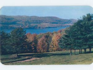 Unused Pre-1980 LAKE SCENE Cooperstown New York NY F3341